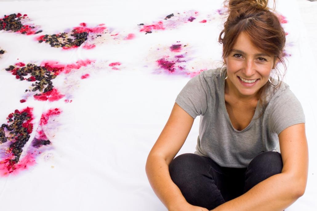l'artista Francesca Cristin con il suo progetto Mensis